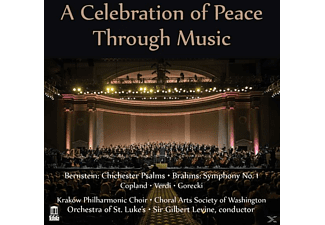 Orchestra Of St.Luke's, Sir Gilbert Levine - A Celebration Of Peace Through Music [CD]