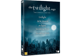 The Twilight Saga - Complete Collection Box Drama DVD