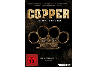 Copper - Justice is brutal. Die komplette Serie - (DVD)