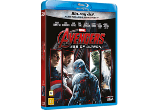 Avengers: Age of Ultron Action Blu-ray 3D