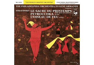 Eugene Ormandy, The Philharmonia Orchestra - Le Sacre Du Printemps/Firebird/Petrushka - (CD)