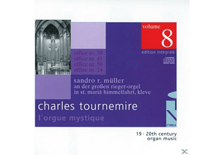 SANDRO R. Mueller - L'Orgue Mystique Vol.8 - (CD)