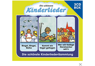 Varios Artists - Die Schönsten Kinderlieder-3-Cd Liederbox Vol.2 [CD]