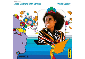 Alice Coltrane World Galaxy Βινύλιο