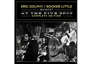 DOLPHY,ERIC & LITTLE,BOOKER QUINT, DOLPHY,ERIC QUINTET & LITTLE,BOOKER - At The Five Spot-Complete Edit. - (CD)