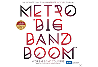 WDR Big Band Cologne - Metro Big Band Boom - (LP + Download)