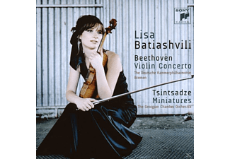 Lisa Batiashvili - Violin Concerto/Miniatures [CD]