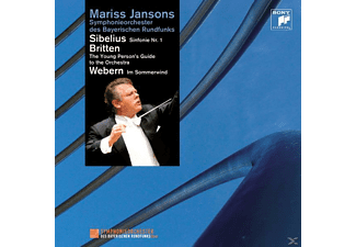 Mariss Jansons, Symph.Orch.des Bayer.Rundfunks - Sibelius:Sinfonie 1/Britten:The Young Person/+ [CD]