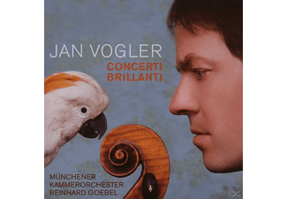 Jan Vogler, Vogler,Jan/Goebel,R./Münchener Kammerorchester - Concerti Brillanti - (CD)