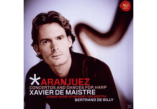Xavier de Maistre, Billy de Bertrand, Rso Vienna, De Maistre,Xavier/De Billy,Bertrand/Vienna RSO - Aranjuez: Concertos And Dances For Harp - (CD)