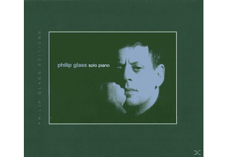 Philip Glass - Solo Piano - (CD)