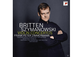 Frank Peter Zimmermann, Wit Antoni, Swedish Radio Symphony Orc - Violin Concertos [CD]