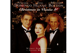 Plácido Domingo, Ying Huang, Michael Bolton - Christmas In Vienna Iv [CD]