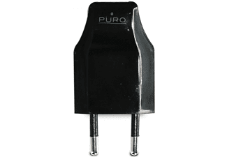 PURO Travel charger USB-adapter zwart (TCV2USBBLK)