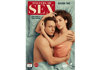 Masters of Sex S2 Drama DVD