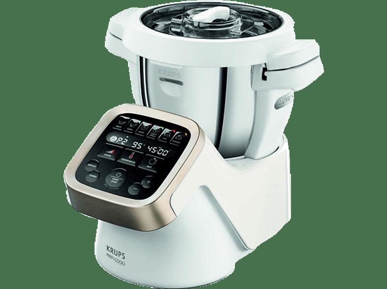 krups hp5031 prepcook kchenmaschine mit kochfunktion weigrauedelstahl - Studio Profi Kuchenmaschine Zubehor