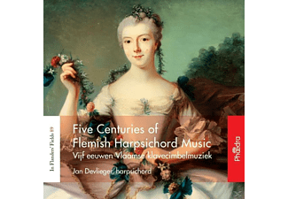 Jan Devlieger - Five Centuries Of Flemish Harpsichord Music [CD]
