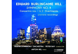 Anton Nel (Pno), Austin Symphony Orchestra, Peter - Sinfonie 4, Concertino 1 & 2, - (CD)