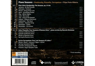Filipe  Pinto-Ribeiro - Piano Seasons - (CD)