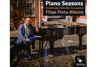 Filipe Pinto-ribeiro - Piano Seasons [CD]