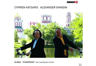 Cyprien Katsaris, Alexander Ghindin - Russian Piano Music For Four Hands - (CD)