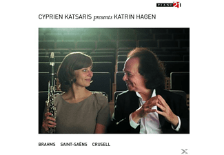 Katsaris, Cyprien / Hagen, Katrin - Works For Clarinet & Piano - (CD)