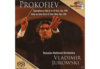 Russian National Orchestra - SYMPH. NR. 5 IN B FLAT/ODE TO THE END OF THE WAR - (CD)