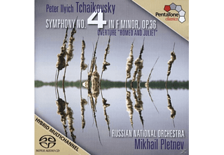 Mikhail Pletnev, Russian National Orchestra - Sinfonie 4 F-moll op.36 - (SACD Hybrid)