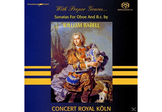 Karla Concert Royal Köln & Schröter - With Proper Graces...Sonatas for Oboe And B.c. - (CD)