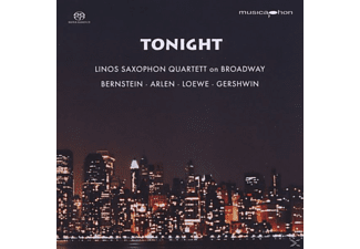 VARIOUS - Tonight.Linos Saxophon Quartett on Broadway - (CD)