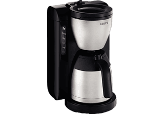 krups kt4208 kaffeemaschine mit edelstahl thermoskanne in edelstahl schwarz kaufen saturn. Black Bedroom Furniture Sets. Home Design Ideas