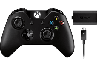 MICROSOFT Xbox One Trådlös kontroll + Play and Charge - Svart
