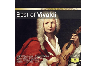 Andre/Carmignola/Preston/Hogwood/Pinnock/+ - Best Of Vivaldi (Classical Choice) - (CD)