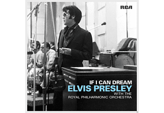 Elvis Presley -  Elvis Presley - If I Can Dream: Elvis.... Presley With The Royal Philharmonic Orchestra [Βινύλιο]