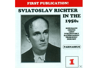 Sviatoslav Richter, Richter Svjatoslav - Richter in the 1950s-Vol.1 - (CD)