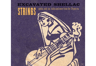 VARIOUS - Excavated Shellac: Strings - (CD)