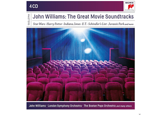 John Williams -  John Williams: The Great Movie Soundtracks [CD]