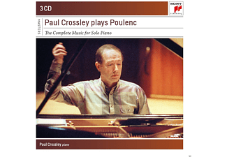 Paul Crossley - Paul Crossley Plays Poulenc-Compl.Piano Works - (CD)