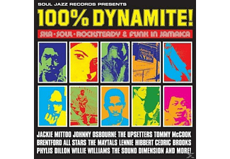 Various - 100% Dynamite!-Ska, Soul, Rocksteady & Funk In Jamai - (CD)