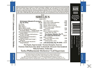 Pajala, Leif Segerteam, Turku Philharmonic Orcestra - Jedermann/Two Serious Melodies/In Memoriam - (CD)