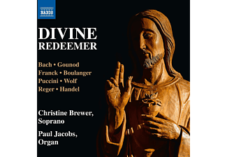 Paul Jacobs, Christine Brewer - Divine Redeemer - (CD)