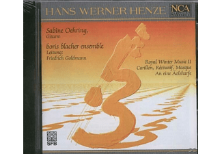 Sabine & Boris Blacher Ensemble Oehring - Royal Winter Music 2 - (CD)