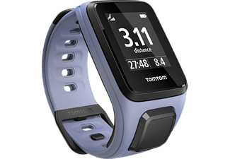 TOMTOM Spark Music Small, GPS Fitness Uhr, S (121-175 mm), Lila