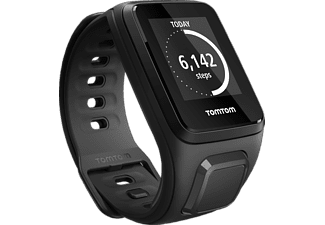 TOMTOM  Spark Cardio inkl. Music Small, GPS Fitness Uhr, S (121-175 mm), Schwarz