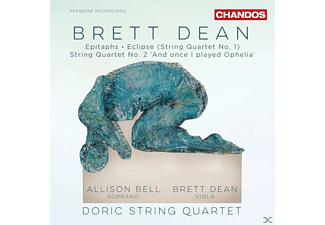 Doric String Quartet, Allison Bell - Streichquartette-Eclipse/Epitaphs/+ [CD]