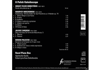 Ravel Piano Duo - A Polish Kaleidoscope - (CD)
