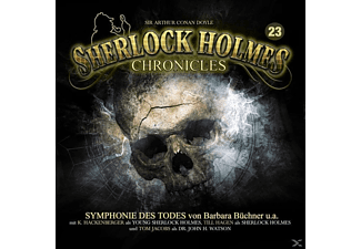 Sherlock Holmes Chronicles 23 - Symphonie des Todes - 1 CD - Hörbuch