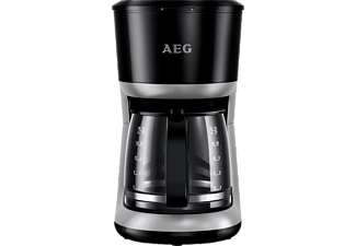AEG KF 3300 Perfect Morning, Kaffeemaschine, Schwarz/Silber