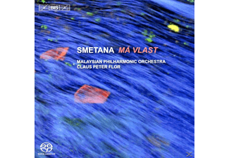 Claus Peter Flor, Malaysian Philharmonic Orchestra - Ma Vlast (Mein Vaterland) - (SACD Hybrid)