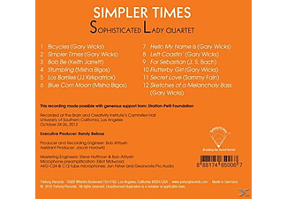 Sophisticated Lady Quartet - Simpler Times [CD]